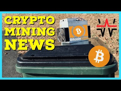 Crypto Mining News | Giga-Watt WTT Bankruptcy | BCH SV Passes ABC In Hash Wars | New ASIC Miners