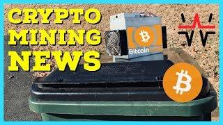 Crypto Mining News | Giga-Watt WTT Bankruptcy | BCH SV Passes ABC in Hash Wars | New ASIC Miners