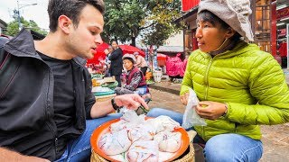 AMAZING Street Food  in CHINA | RARELY SEEN Street Food ADVENTURE TRAVEL VLOG 2017 thumbnail