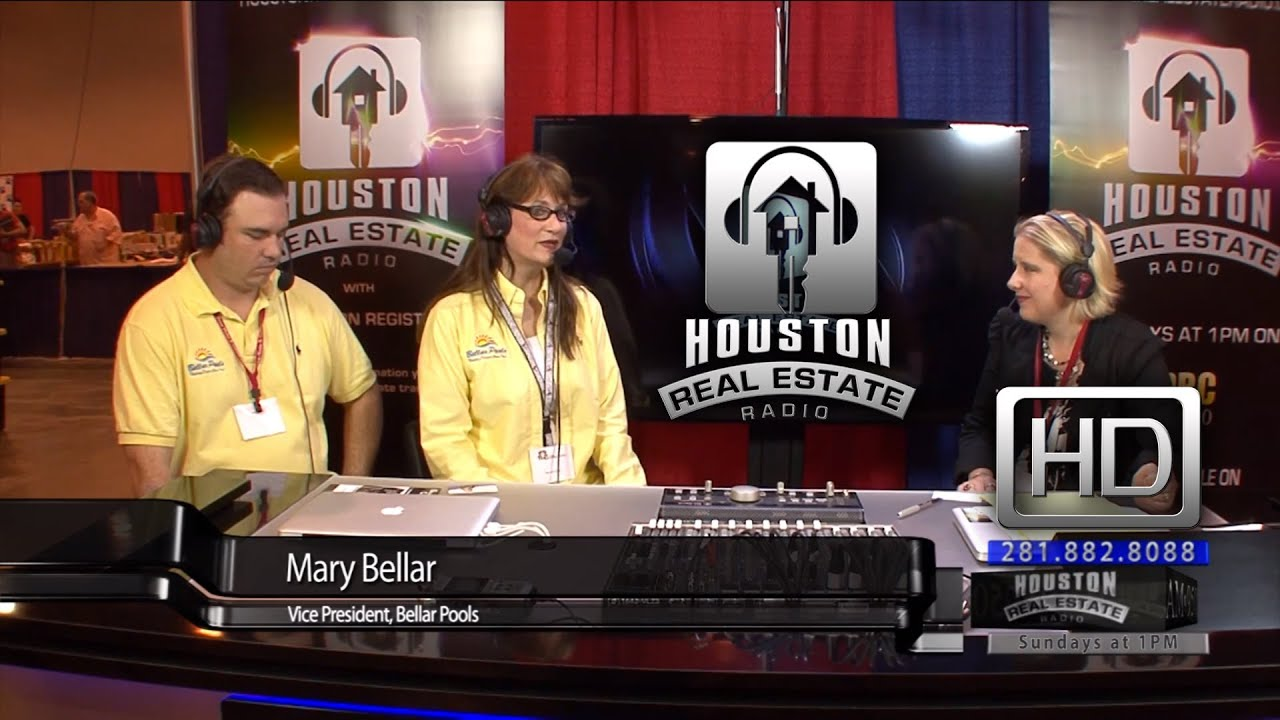 Bellar Pools   Texas Home And Garden Show   Houston Real Estate Radio    YouTube