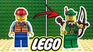 COMPRANDO ROUPAS NOVAS no LEGO (Lego Clothing Store)