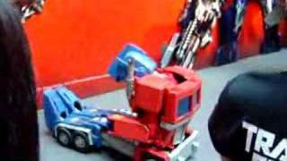 Transformers Costume Performance in China