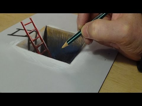 How to Draw Red Ladder in the Hole