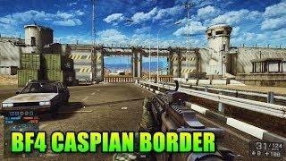 Caspian Border First Look! Mega Wall (Battlefield 4: XBOX ONE Second Assault Gameplay/Commentary)