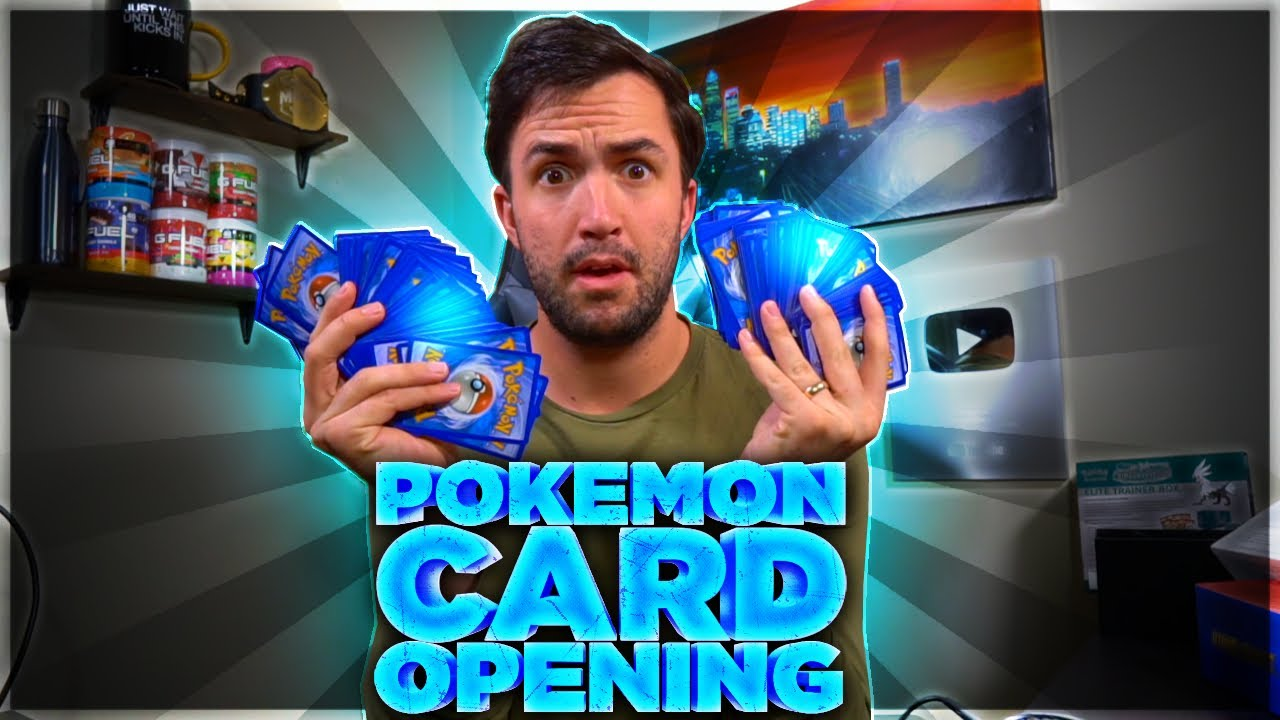 My first Pokemon card opening in 14 years...