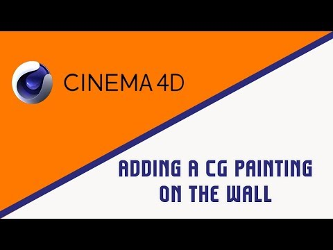 Adding A CG Painting On the Wall | Adding 3D Objects To A Video | PART 1
