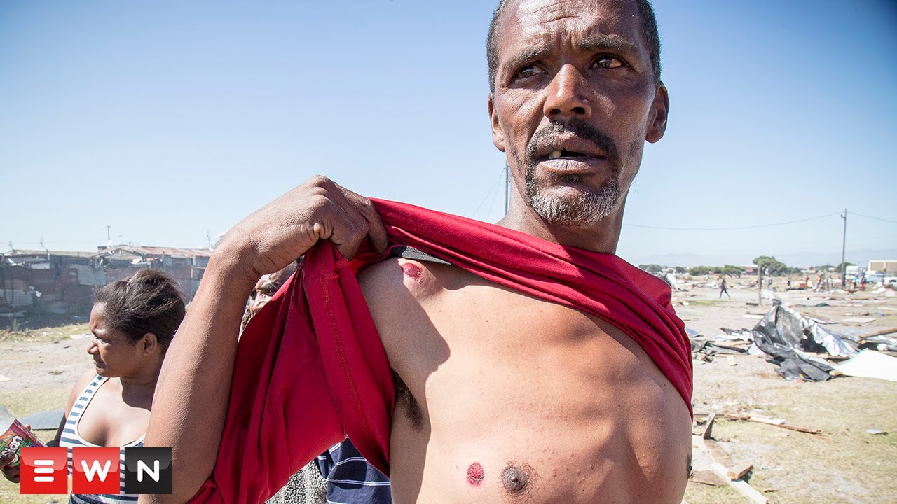 In Parkwood, South Africa evictions turn violent