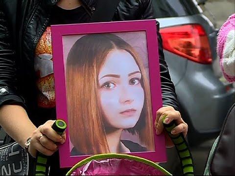 Начало суда резонансного убийства девушки   СТС-МИР.