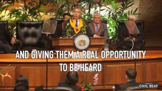 Hawaii's 2016 State Of The State Highlights