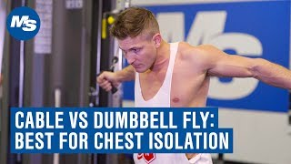 Cable Crossovers Vs  Dumbbell Fly: Which Builds A Bigger Chest? (ft. Scott Herman)