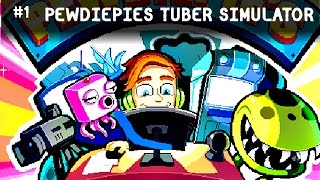 PEWDIEPIES TUBER SIMULATOR PO POLSKU | Pierwsze Wrażenia Gameplay pl
