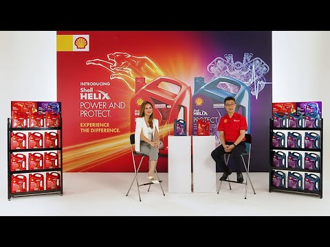 Shell Helix Power & Protect Launch