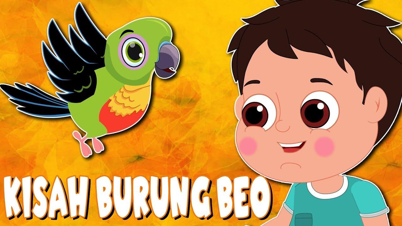 Burung Kakak Tua   Kisah Burung Beo   Kartun Anak Anak   Dongeng Bahasa Indonesia