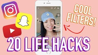 20 TIPS &amp TRICKS FOR SOCIAL MEDIA Michelle Kanemitsu