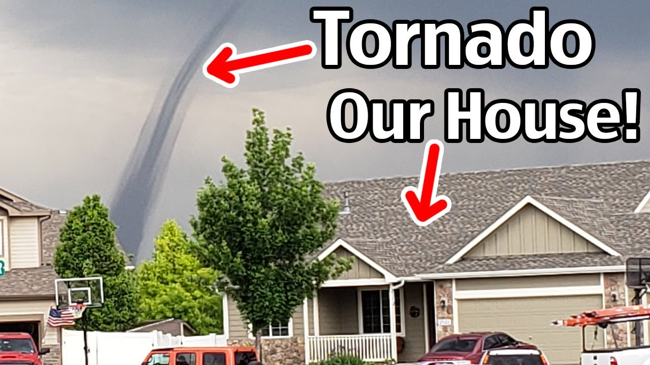 Tornado Hits While Selling Our House!!!  Mead Colorado Tornado 2021!