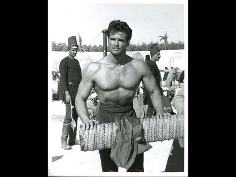 Steve Reeves is The Thief of Baghdad, Indiana Jones theme music