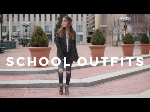 MONDAY - FRIDAY OUTFIT IDEAS | College OOTW