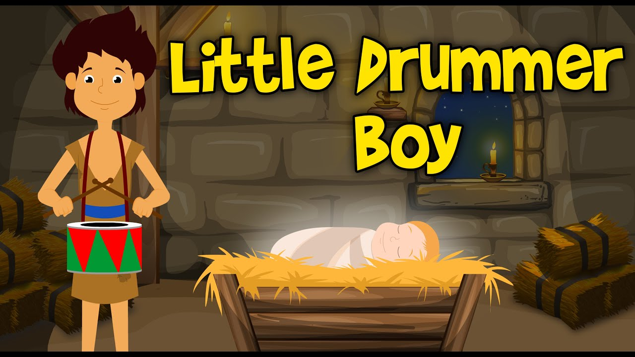 Little Drummer Boy Christmas Song For Children | CDS Kids Tv - YouTube