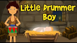 Little Drummer Boy Christmas Song For Children | CDS Kids Tv