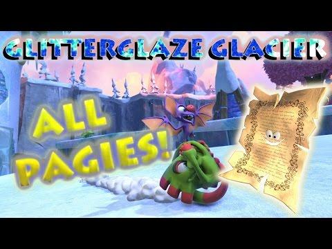 Yooka-Laylee - Glitterglaze Glacier Pagies