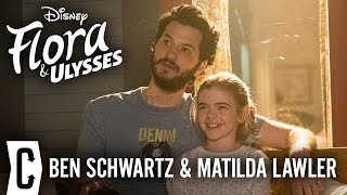 Ben Schwartz and Matilda Lawler on 'Flora & Ulysses' and What They Took From Set