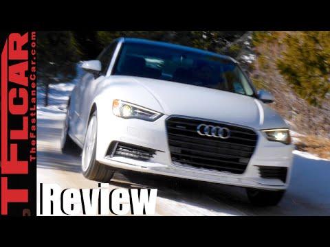 2016 Audi A3 Quattro Colorado AWD Snowy Rocky Mountain Review in TFL4K