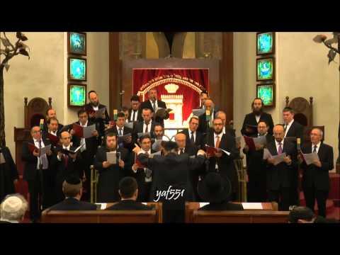 Cantor Gideon Zelermyer sings R'etze Bimnuchatenu - Genshof
