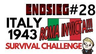 HoI4 - Endsieg - 1943 WW2 Italy - #28 ITALY IS RESTORED! ROMA INVICTA!!