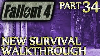 Ⓦ Fallout 4 New Survival Walkthrough ▪ Part 34: The Slog, Special Delivery
