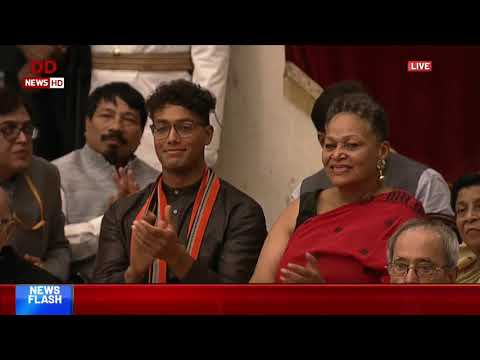 Full Event: President Presents Bharat Ratna Awards