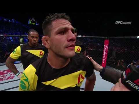 Fight Night Singapore: Rafael Dos Anjos Octagon Interview