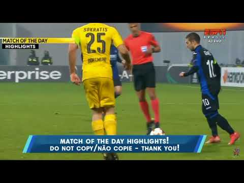 Dortmund vs Atalanta 02/22/18