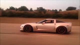 Corvette Z06 Highway Play... Corvette Z06 Exhaust! Lowered Corvette Z06!