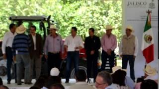 ENTREGA DE APOYO RURAL EN ACATIC - VILLA HIDALGO JALISCO