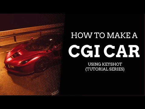 How To Make a CGI Car on Keyshot - CGI Render
