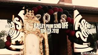 Kayla & J. Ally Prom Send off - Directed by KC Cre8s: Films