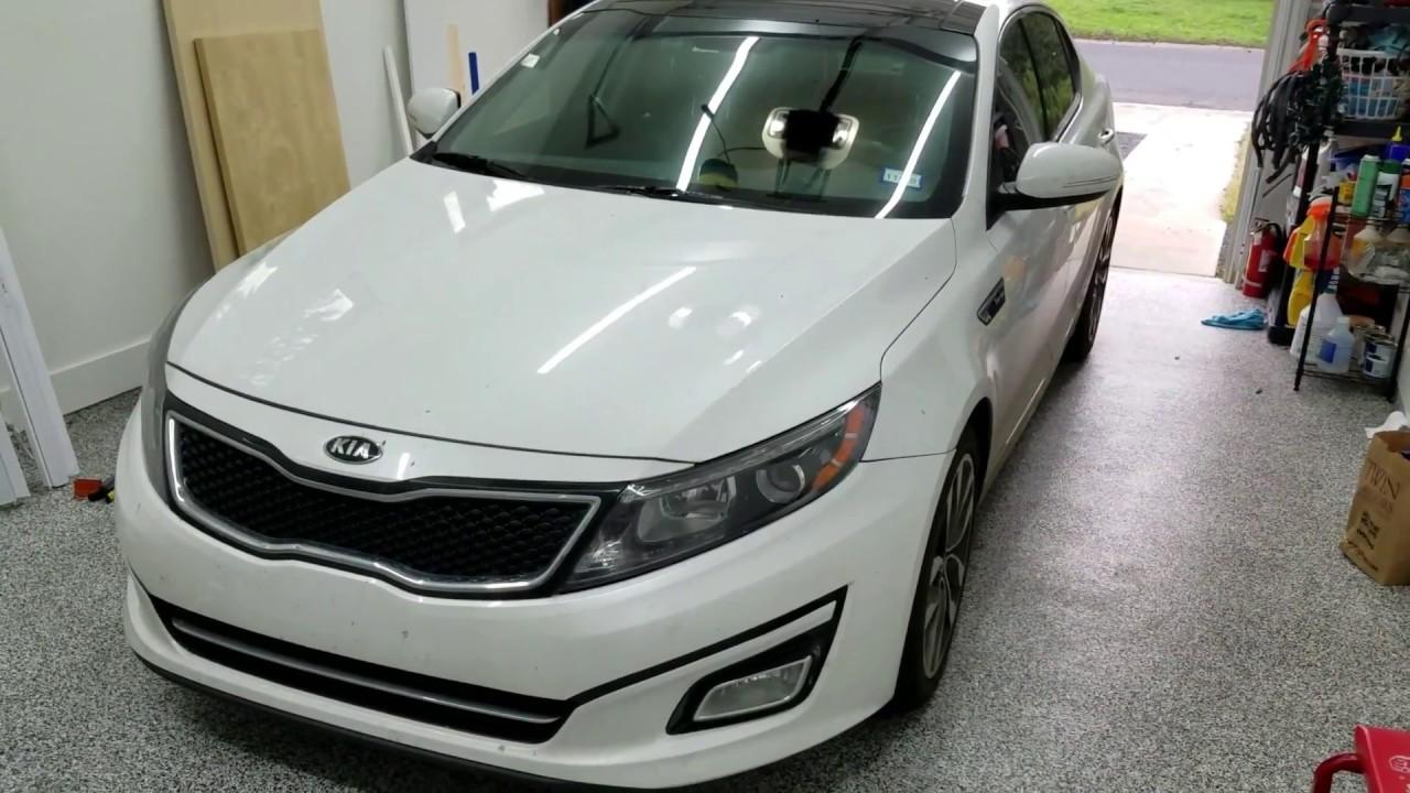 Kia Forte: Parking Brake Lever Installation