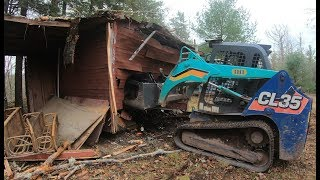 removing-a-shed-and-widening-a-driveway