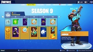 The SEASON 9 BATTLE PASS SKINS LEAKED! (Fortnite Season 9)