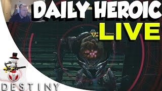 Destiny - Daily Heroic LIVE w/ Facecam - Chamber Of Night - Telthor, Unborn LEVEL 30
