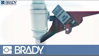 Brady Lockout Tagout Device Movie: Standard ball valve lockout