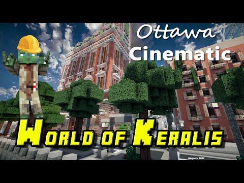 Minecraft World of Keralis Cinematic - Ottawa
