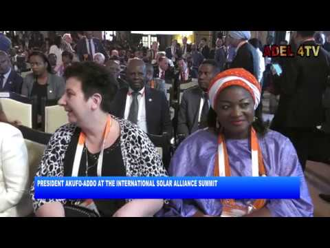 PRESIDENT AKUFO-ADDO AT THE INTERNATIONAL SOLAR ALLIANCE SUMMIT_AKM
