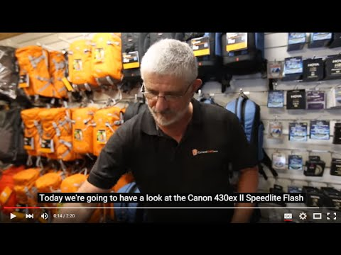 Canon 430EX II Speedlite Flash Review   Cameras Direct