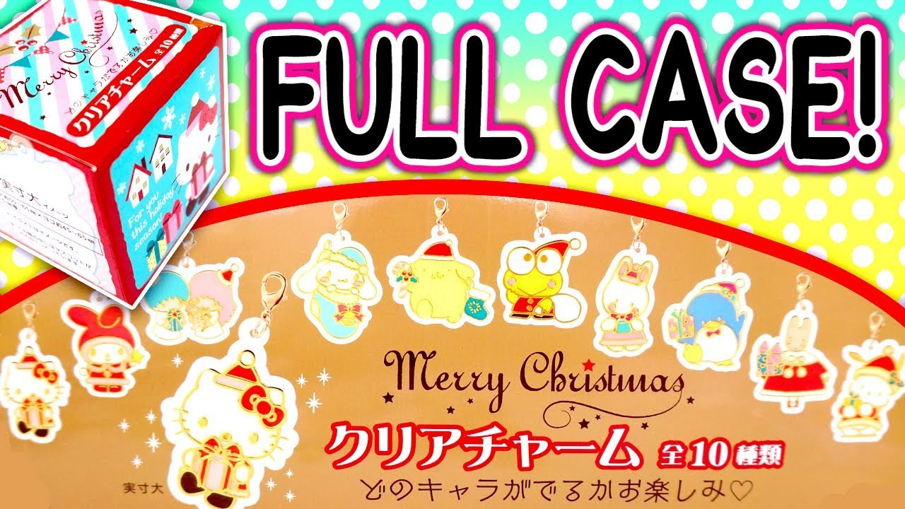 Hello Kitty Merry Christmas.Sanrio Merry Christmas Surprise Blind Boxes Full Case Hello Kitty Cinnamoroll And More