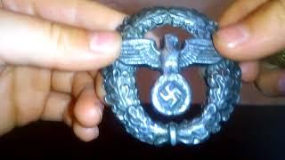 Обзор на Советскую кокарду и немецкую