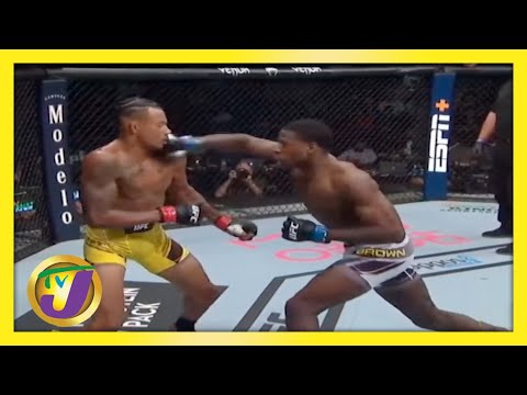 Jamaican UFC Fighter   TVJ Sports Commentary