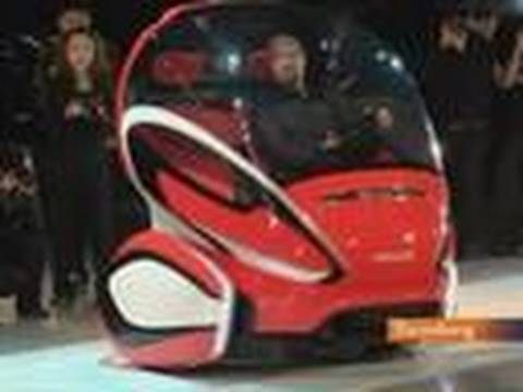 General Motors Unveils Concept Electric Car in Shanghai: Video