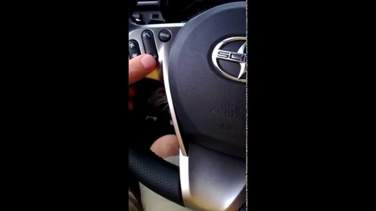 2015 Scion To Steering Wheel Controls Aftermarket