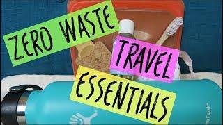 Zero Waste Travel Essentials | Eco-friendly + Low Impact